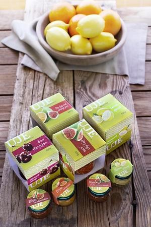 A range of fruit jams & spreads from Oleoteca Uje