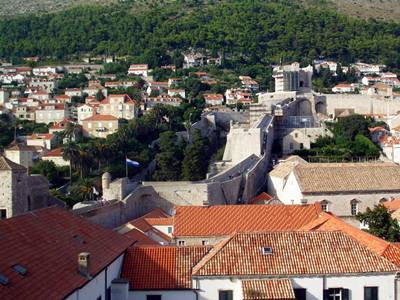 Minceta Fortress is situated in the northwestern section of the city walls
