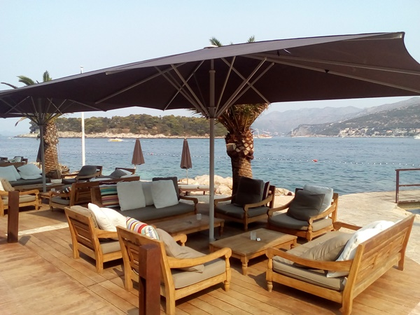 Cava beach is ideal place for a relaxed summer afternoon