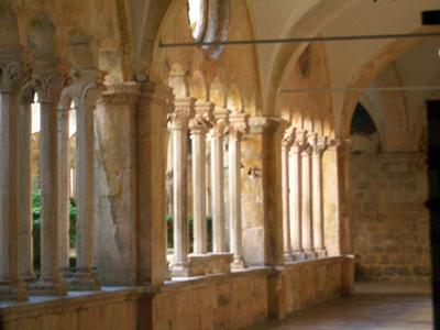 Franciscan monastery in Dubrovnik - cloister