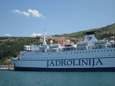 Ferry from Dubrovnik to Bari in Italy