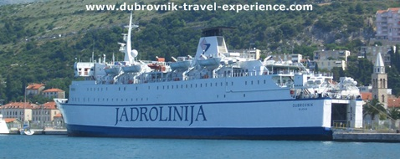 Jadrolinija's ferry