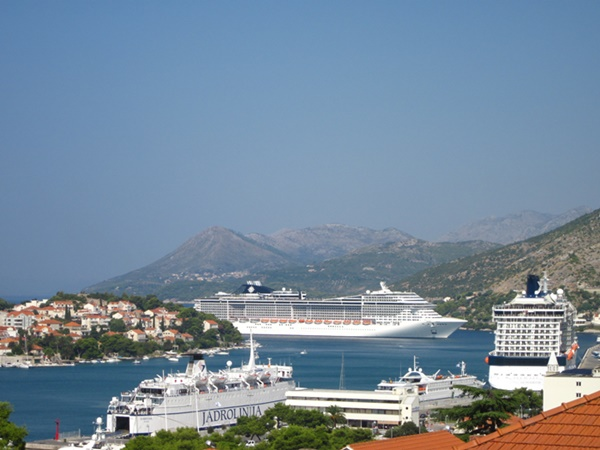 Ferry & Cruise port in Dubrovnik