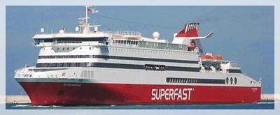 'Superfast' ferry