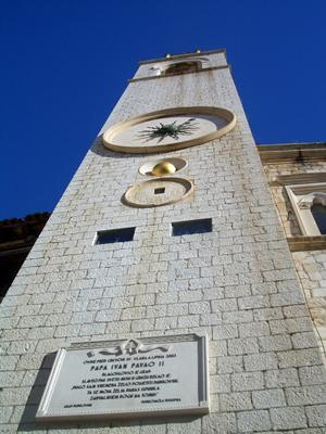 Dubrovnik Bell tower seen from below
