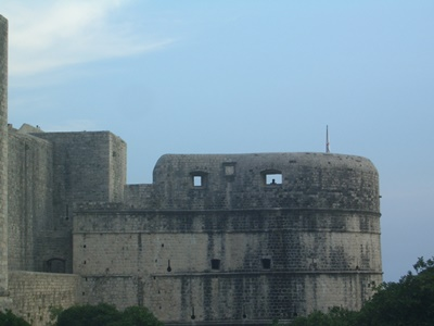 The Bokar Fortress can be seen while walking the city walls