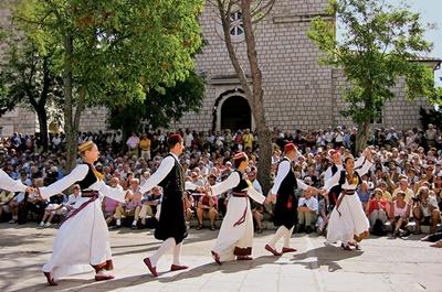 Cilipi folklore dance