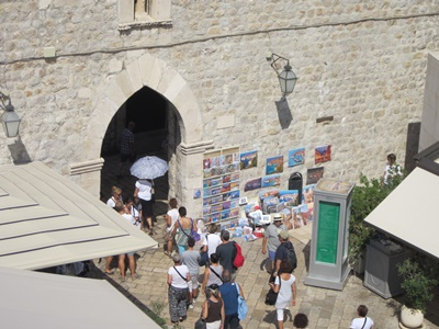 Entrance to the Old Town from harbour