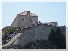 Seaside section of City walls