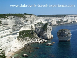 Limestone cliffs in Bonifacio