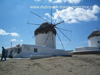 The windmill on Mykonos