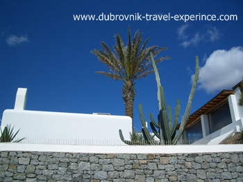 White & blue - colours of Mykonos