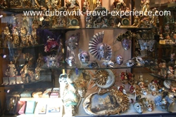 A souvenir shop in Venice