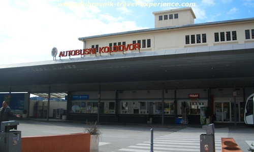 Dubrovnik main bus station