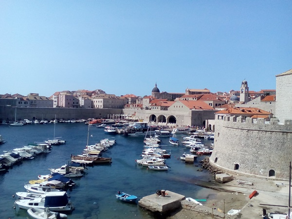 Dubrovnik - historic city in the south of Croatia