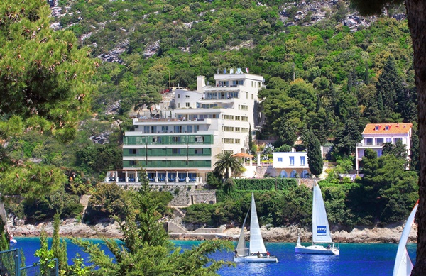 5* Boutique Hotel More is surrounded by lush Mediterranean vegetation