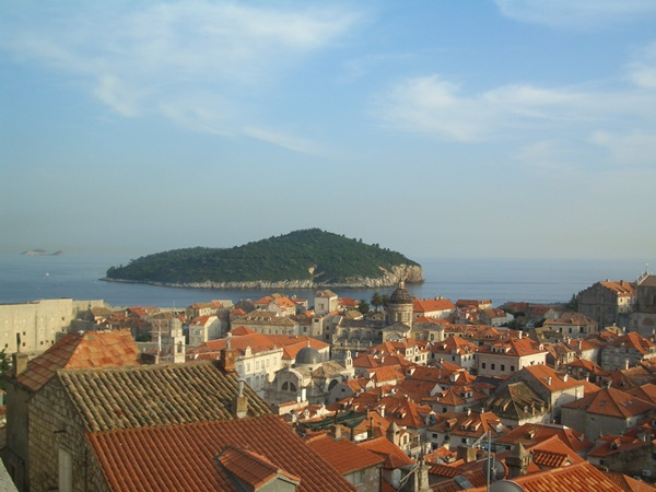 View of the Old Town from city walls