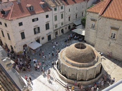Onofrio's Great Fountain - view from the city walls