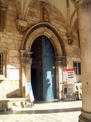 Entrance doors to the Rector's Palace