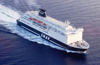 SNAV ferry