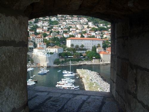 View of St John's fortress