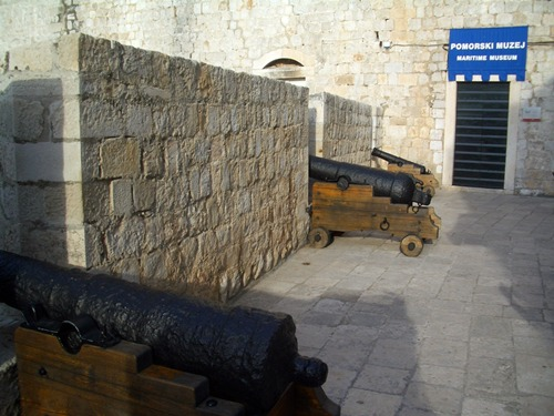 Old cannons on the fortress