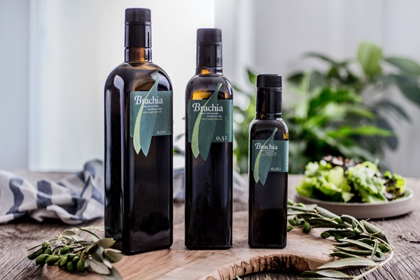 Brachia olive oil - made of olives from the island of Brac