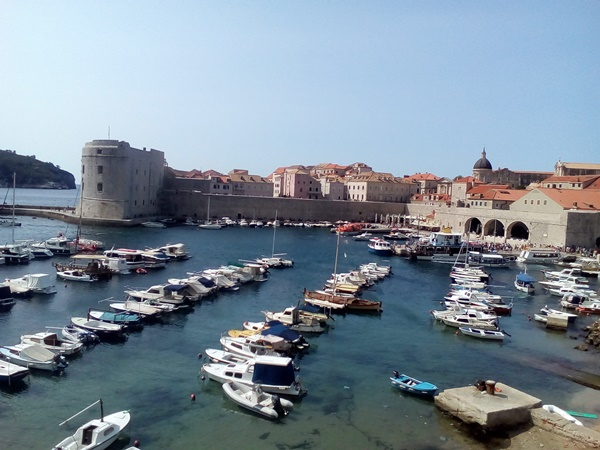 Old Town harbour in Dubrovnik