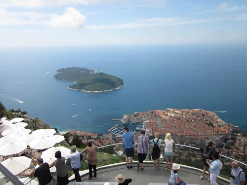 Amazing views from the Mount Srdj