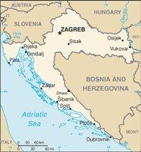 Map of Croatia