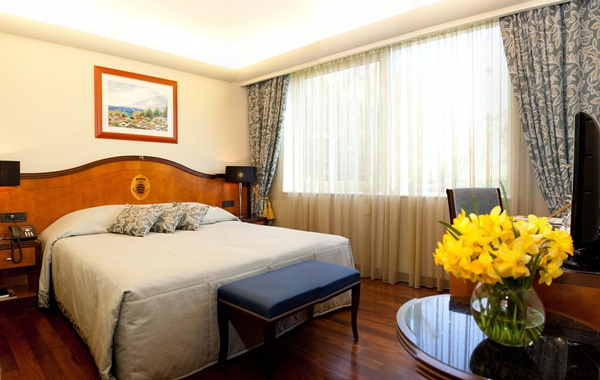A classic double room in 5* Boutique Hotel More