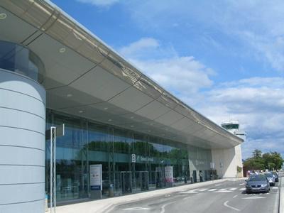 Dubrovnik airport arrival terminal