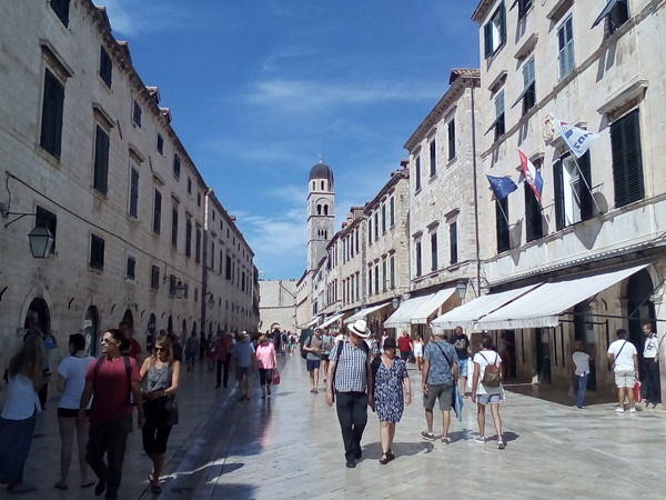 Stradun - the central street of Old Town