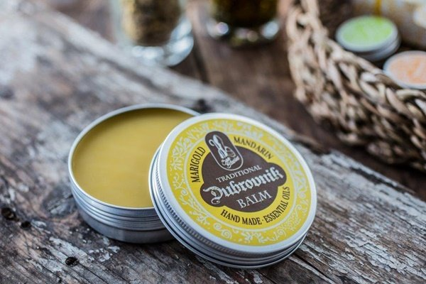 Traditional Dubrovnik balm with marigold and mandarin