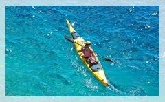 Sea kayaking Elaphite islands