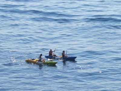 Exploring Croatian coast from the kayak