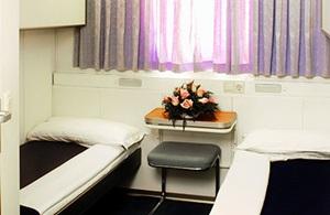 2 bed outside cabin - SNAV ferry