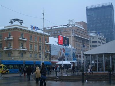 Ban Jelacic Square in Zagreb